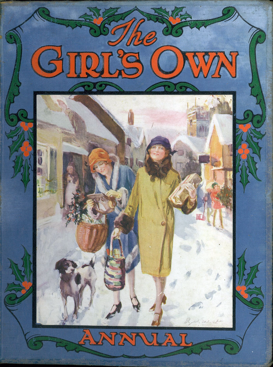 Girls Own Annual Cover